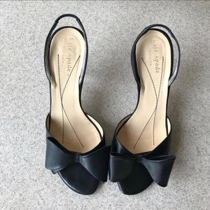 Kate Spade • Leather Slingback Heels